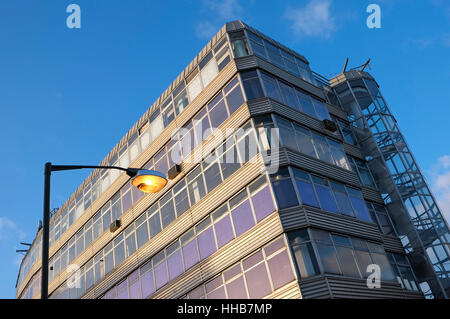 derelict hmso building in norwich, norfolk, england - Stock Photo