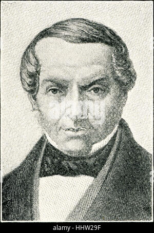 Baron James Mayer de Rothschild, German-French banker, founder of the French branch of the Rothschild family. 15 - Stock Photo