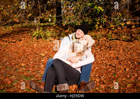 woman, spare time, free time, leisure, leisure time, leaves, young, younger, - Stock Photo