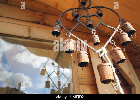 Wind Chime bells - Stock Photo