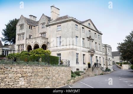 The Painswick Hotel, near Stroud, Gloucestershire UK - Stock Photo