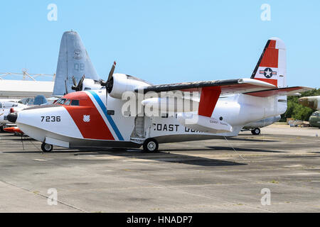 Grumman HU-16 Albatross - Stock Photo