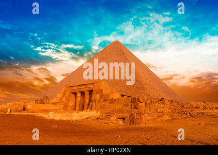 Stock Photo - Gza pyramids, Cairo, Egypt - Stock Photo