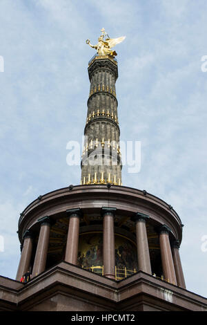 Germany,Berlin,Victory Column - Stock Photo