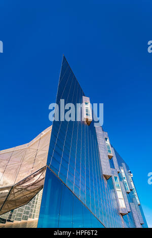 Trade Fairs and Congress Center in Malaga, Spain - The building has a total area of 60,000 m2, of which 17,000 m2 - Stock Photo