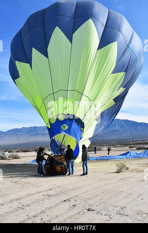 Hot Air Balloon Festival Pahrump, USA 2017 - Stock Photo