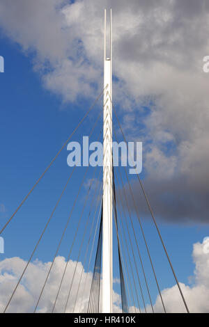Christchurch Bridge over the River Thames in Reading, Berkshire - Stock Photo