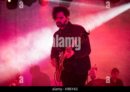 London, UK. 27th February 2017. Zac Brown of Tycho performs at Electric Brixton on February 27, 2017 in London England. - Stock Photo