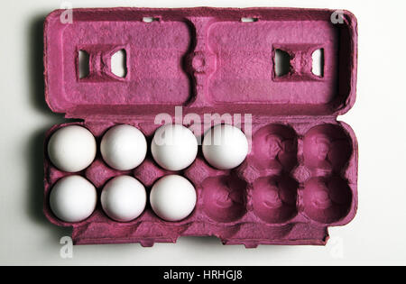 5 More Eggs Equals a Dozen - Stock Photo
