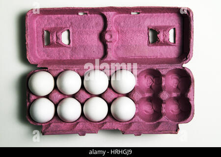 4 More Eggs Equals a Dozen - Stock Photo