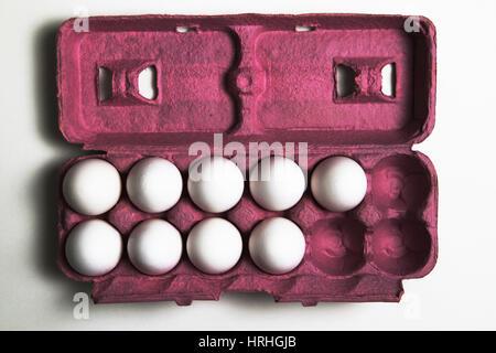 3 More Eggs Equals a Dozen - Stock Photo