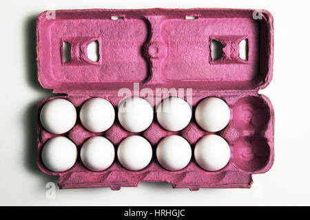 2 More Eggs Equals a Dozen - Stock Photo