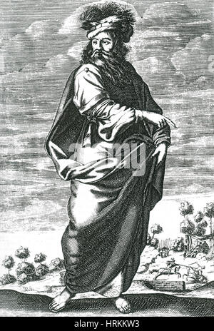 Chilon of Sparta, Sage of Greece - Stock Photo