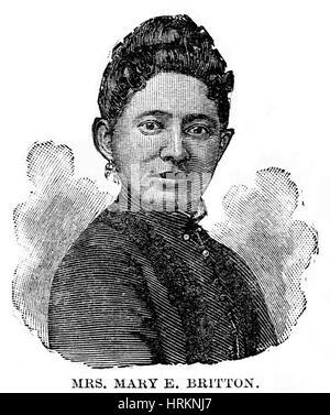 Mary Britton, American Physician - Stock Photo