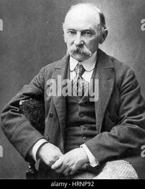 Thomas Hardy, English Author and Poet - Stock Photo