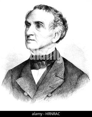 Justus von Liebig, German Chemist - Stock Photo