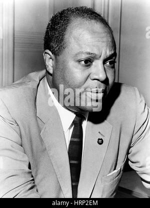 James Farmer, Civil Rights Leader - Stock Photo