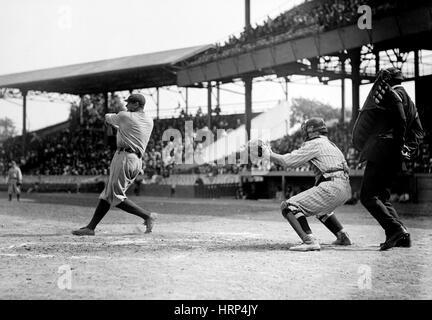 Babe Ruth, American Baseball Legend - Stock Photo