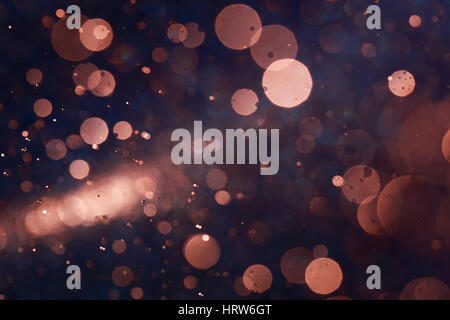 Natural bokeh abstract background caused by spray water. - Stock Photo