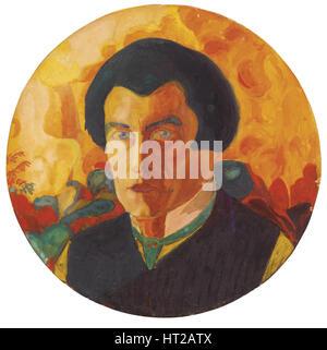 Self-Portrait, 1908-1910. Artist: Malevich, Kasimir Severinovich (1878-1935) - Stock Photo
