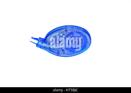 Office tool corrector isolated on white background - Stock Photo