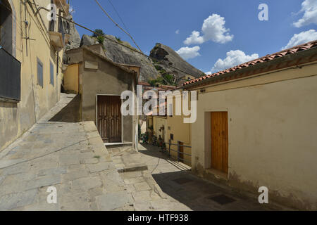 Castelmezzano, Lucania, Italy - Stock Photo