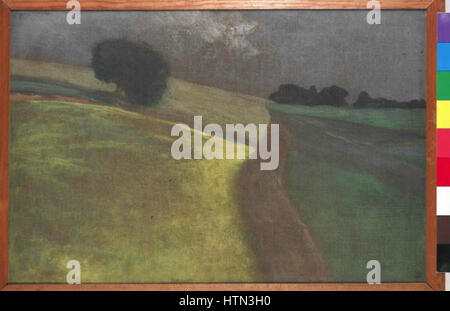 Jakub Schikaneder 27. 2. 1855-15. 11. 1924 - Krajina - Stock Photo