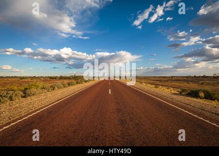 Outback Road - Australia - Stock Photo