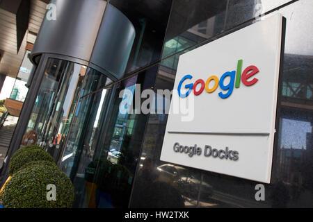 google docks montevetro building Dublin Republic of Ireland - Stock Photo
