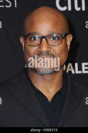 Hollywood, CA, USA. 17th Mar, 2017. 17 March 2017 - Hollywood, California - Seth Gilliam. The Paley Center For Media's - Stock Photo
