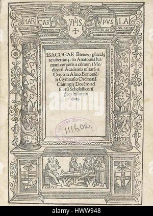Berengario title - Stock Photo