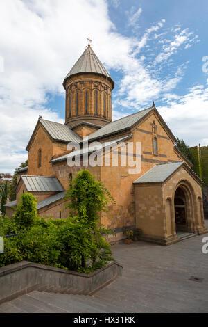 Sioni Cathedral in Tbilisi, Georgia - Stock Photo
