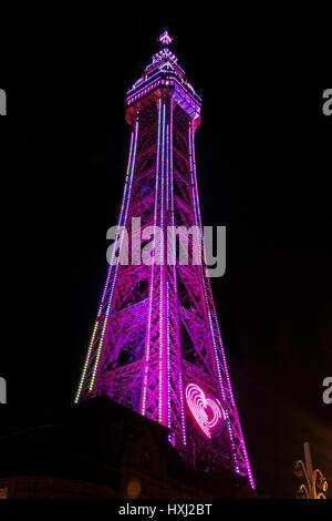 Under Blackpool Tower - Stock Photo