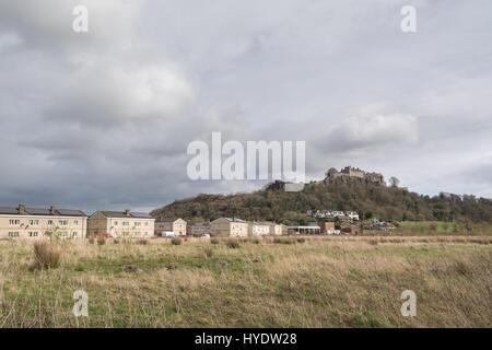 Raploch housing estate, Raploch, Stirling, Scotland, UK - Stock Photo