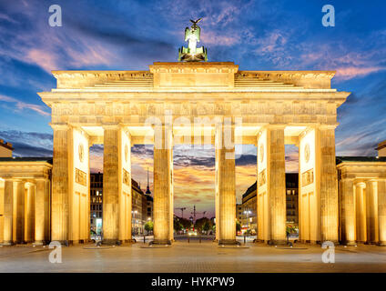 Berlin gate - Stock Photo