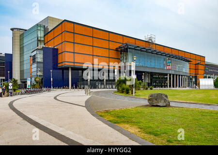 The SSE Arena (formerly the Odyssey Arena), Titanic Quarter, Belfast, County Antrim, Northern Ireland, UK - Stock Photo