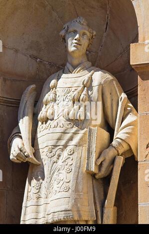 Padula Charterhouse. Campania. Italy. - Stock Photo