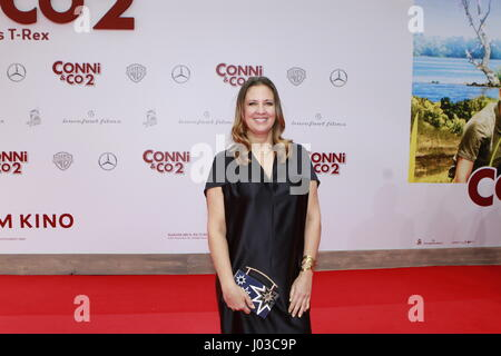 Berlin, Germany. 09th Apr, 2017. Dana Schweiger on the red carpet to the world premiere of the Kinofilms Conni & - Stock Photo