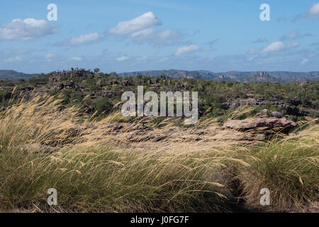Kakadu National Park view accross valley - Stock Photo