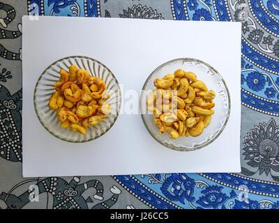 Twin Cashew - Stock Photo