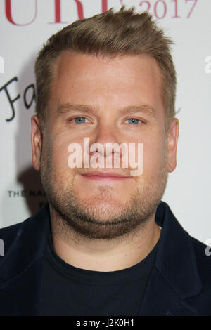 Los Angeles, USA. 28th Apr, 2017. James Corden 04/28/2017 The 22nd Annual 'Taste for a Cure' held at The Beverly - Stock Photo