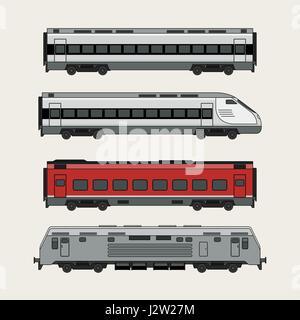 Trains - Stock Photo