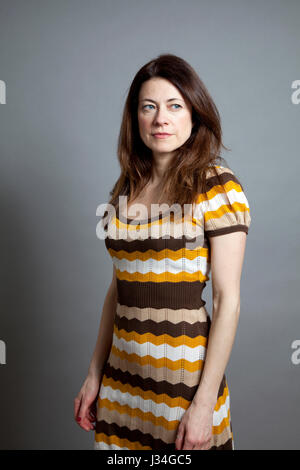 Woman Standing Portrait - Stock Photo