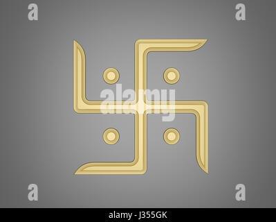 Swastika Symbol - Stock Photo