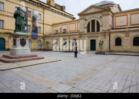 Founded by Napoleon Bonaparte's uncle Joseph Fesch, Musee Fesch (officially Palais Fesch Musee des Beaux Arts) is - Stock Photo