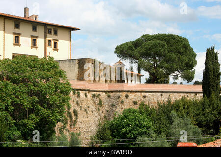 Belvedere fort in Firenze, italy - Stock Photo