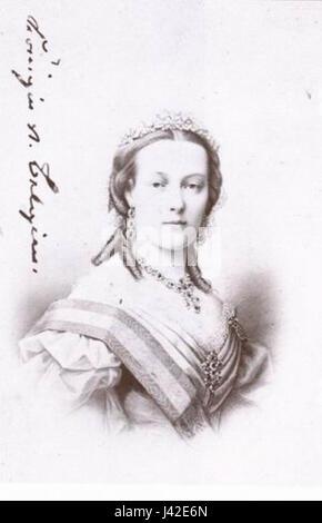 Marie Henriette of Austria 02 - Stock Photo