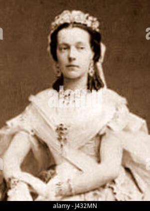 Marie Henriette of Austria cropped - Stock Photo
