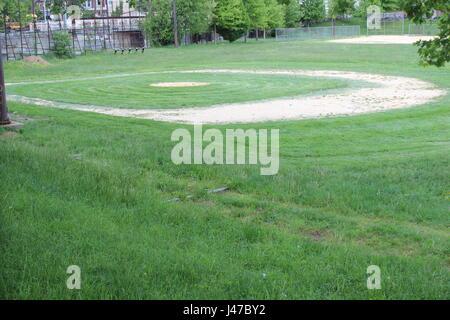 Kingsessing Playground in Philadelphia - Stock Photo