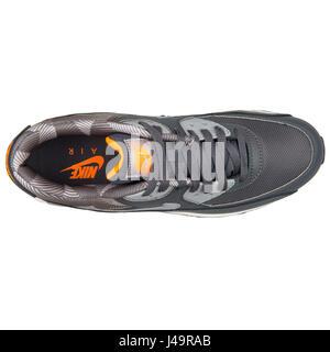 Nike Air Max 90 Print Dark Grey White - 749817-018 - Stock Photo